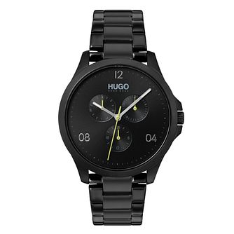 HUGO Black IP Black Dial Bracelet Watch - Product number 9647767