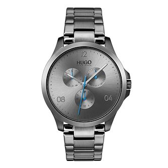 Hugo Grey IP Grey Dial Bracelet Watch - Product number 9647775