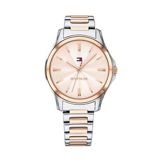 Tommy Hilfiger Ladies' Two Tone Bracelet Watch - Product number 9649921