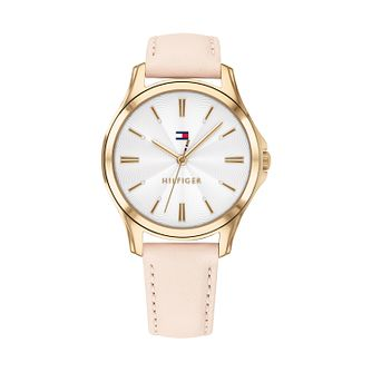 Tommy Hilfiger Pink Leather Strap Watch - Product number 9649948