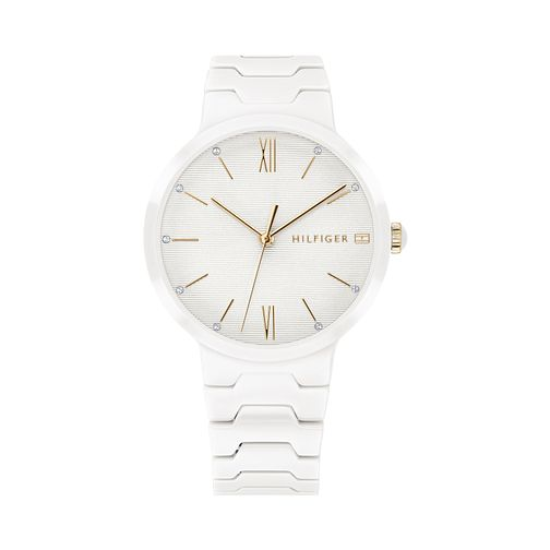 Tommy Hilfiger White Ceramic Bracelet Watch - Product number 9649956
