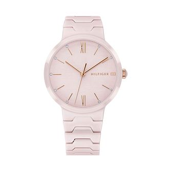 Tommy Hilfiger Pink Ceramic Bracelet Watch - Product number 9649964