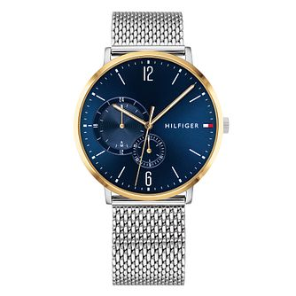Tommy Hilfiger Men's Stainless Steel Mesh Bracelet Watch - Product number 9650032