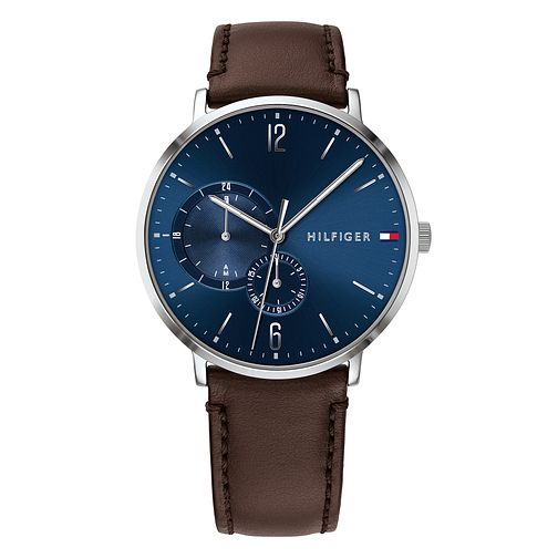 Tommy Hilfiger Brown Leather Strap Watch - Product number 9650067