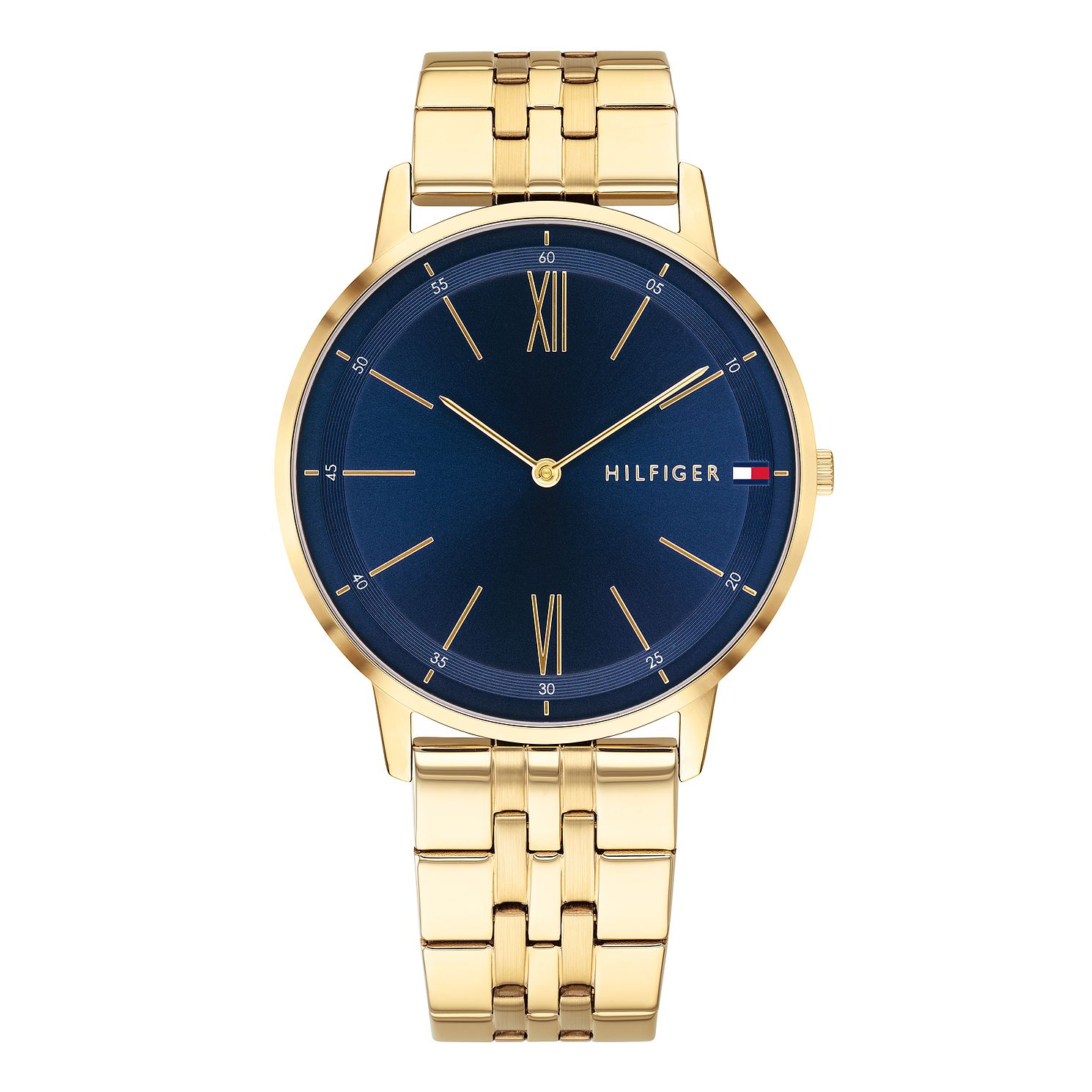 Tommy Hilfiger Men's Gold Tone IP Bracelet Watch - Product number 9650083