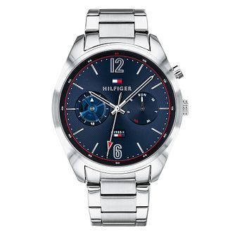 Tommy Hilfiger Men's Silver Stainless Steel Bracelet Watch - Product number 9650172