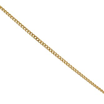 9ct Gold Fine Curb Chain 20 inches - Product number 9654380