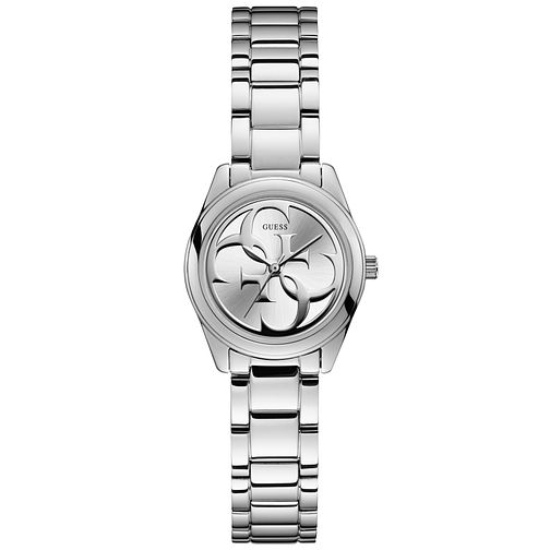 Guess Ladies' Silver Logo Dial Watch - Product number 9655409