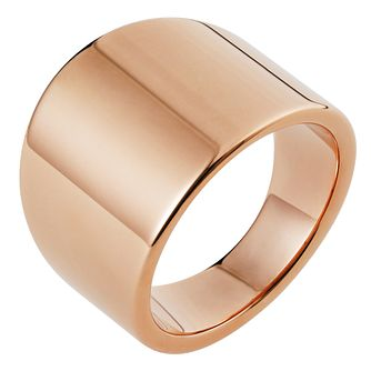 Inara Ceramic Rose Gold Plated Ring - Product number 9661638