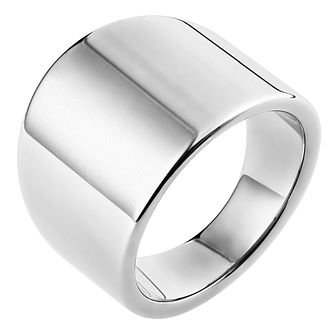 Inara Ceramic Rhodium Plated Ring - Product number 9661794