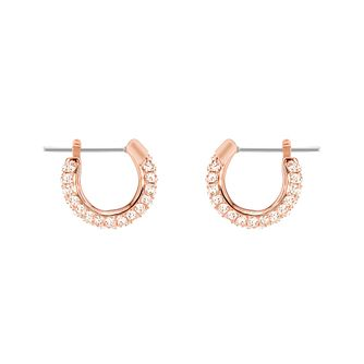 Swarvoski Ladies' Rose Gold Tone Hoop Earrings - Product number 9662421