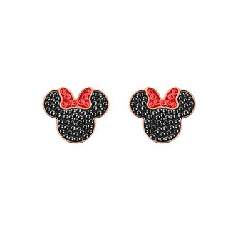 Swarvoski Ladies' Rose Gold Plated Minnie Stud Earrings - Product number 9662472