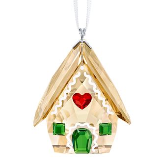 Swarvoski Gingerbread House Christmas Tree Ornament - Product number 9662839