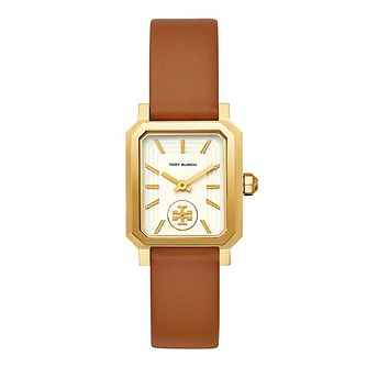 Tory Burch Robinson Ladies' Brown Strap Watch - Product number 9663045