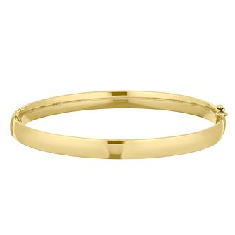 9ct Yellow Gold Bangle - Product number 9663312