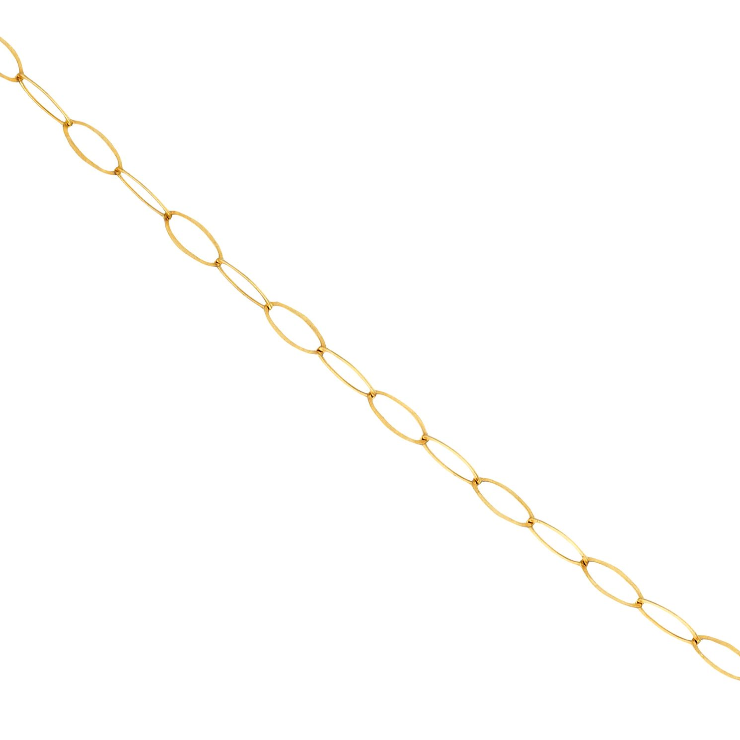 9ct Yellow Gold Trace Chain Necklace - Product number 9668276