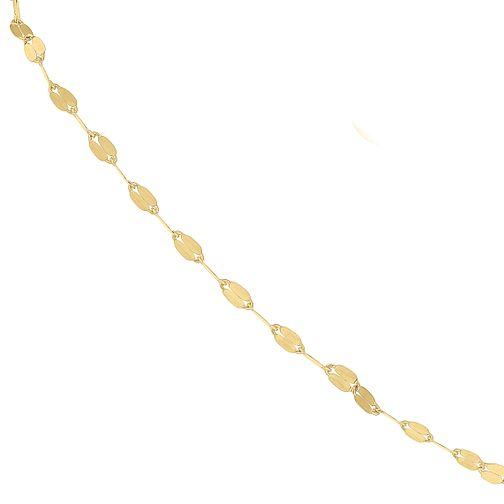 9ct Yellow Gold Fancy Disc Chain Bracelet - Product number 9668403