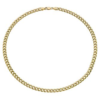 Together Silver & 9ct Bonded Gold 20 inches Curb Chain - Product number 9690174