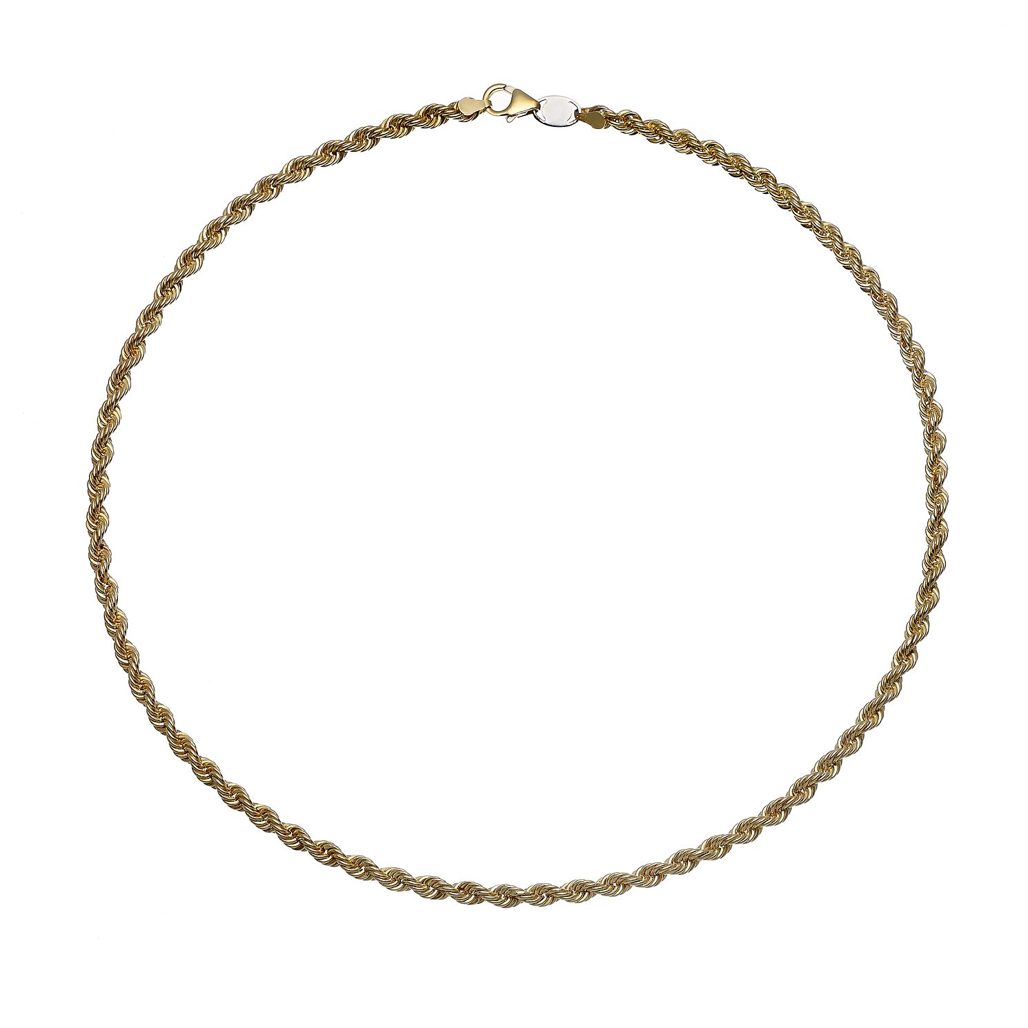 Together Silver & 9ct Bonded Yellow Gold Chain - Product number 9690549