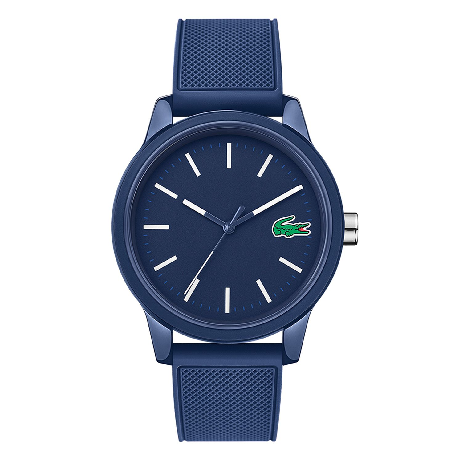 Lacoste Men's Blue Dial Blue Silicone Strap Watch - Product number 9691561