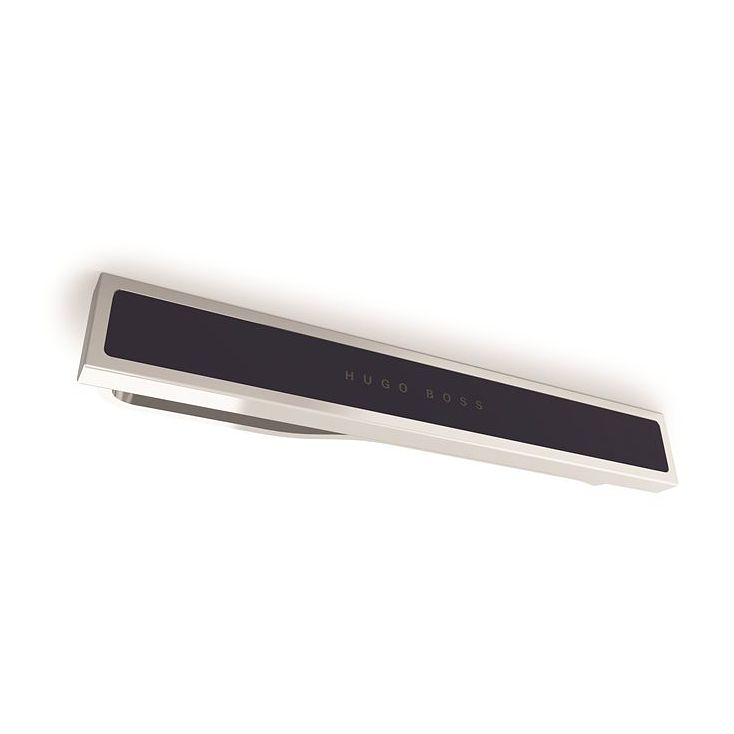 BOSS Ted Men's Brass Navy Tie Clip - Product number 9693750