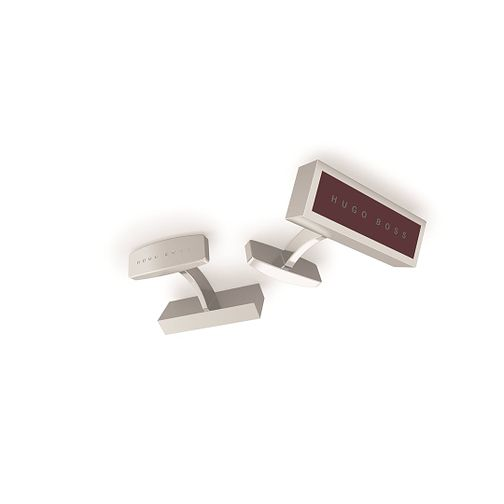 BOSS Ted Men's Brass & Enamel Cufflinks - Product number 9693793