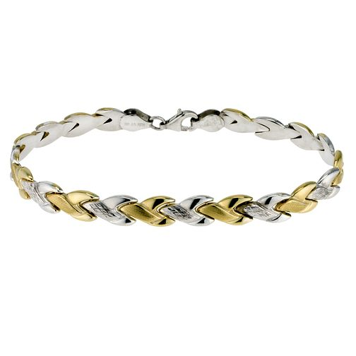 Together Silver & Bonded Gold Two Colour Bracelet - Product number 9694064