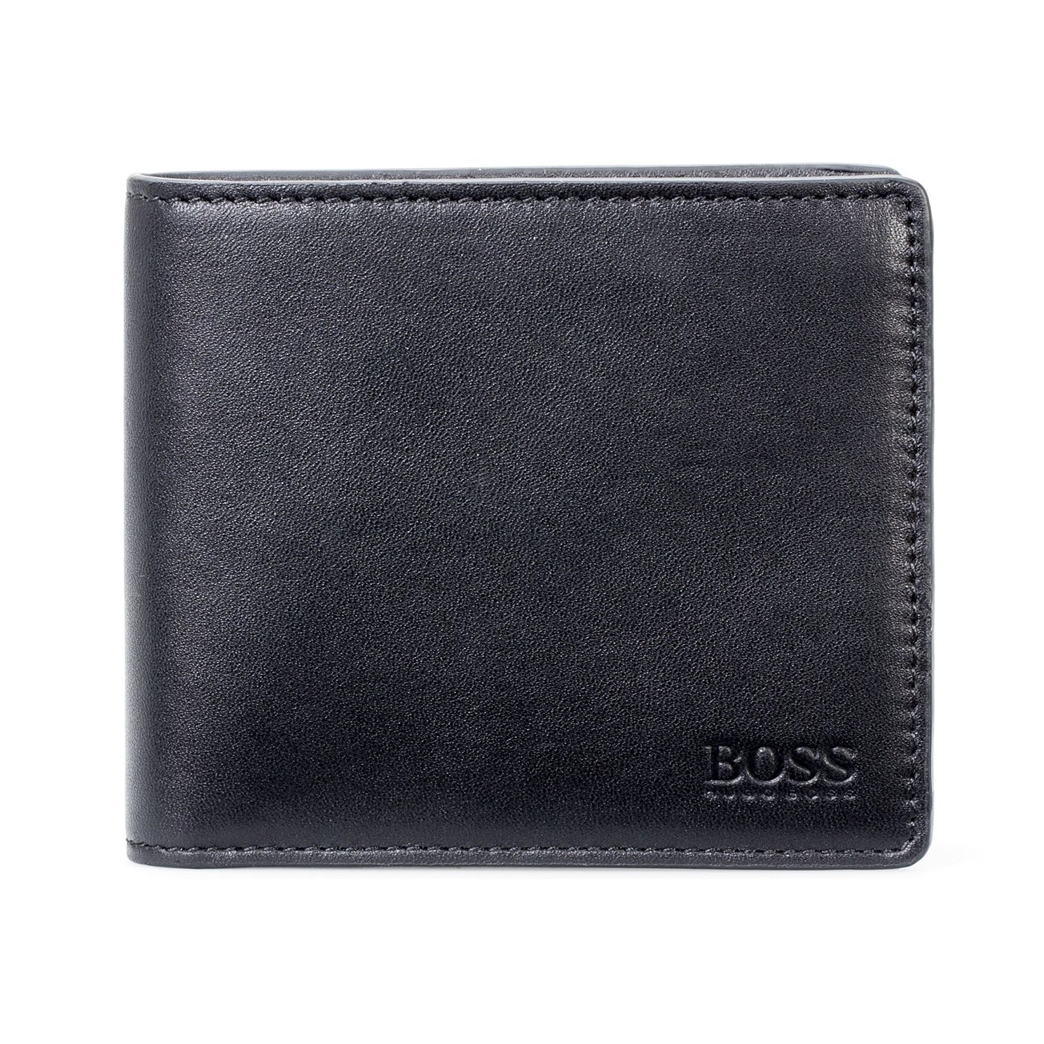 BOSS Majestic Men's Black Leather Wallet - Product number 9694250