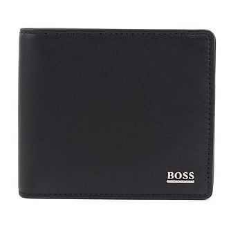 BOSS Men's Black Leather Wallet & Cardholder Gift Set - Product number 9694285