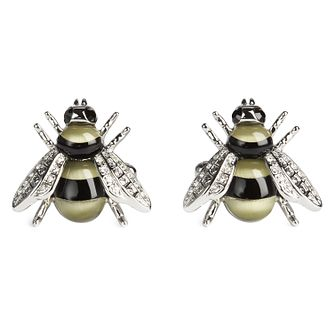 Simon Carter Men's Bee Swarovski Crystals Cufflinks - Product number 9694420