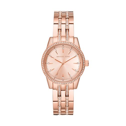 Michael Kors Ritz Ladies' Rose Gold Tone Bracelet Watch - Product number 9707883