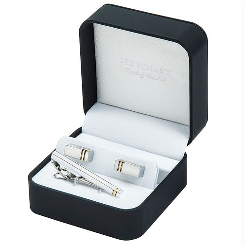 Jos Von Arx Cufflinks and Tiebar Gift Set - Product number 9729143