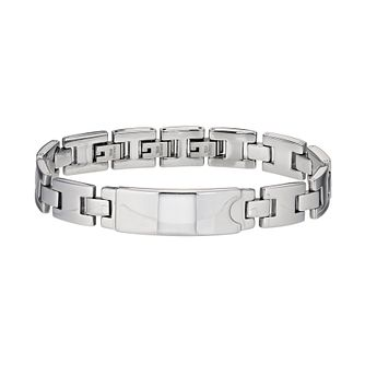 Stainless Steel Link ID Bracelet - Product number 9732829