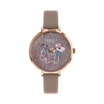 Radley Ladies' Brown Dial Brown Leather Strap Watch - Product number 9734066