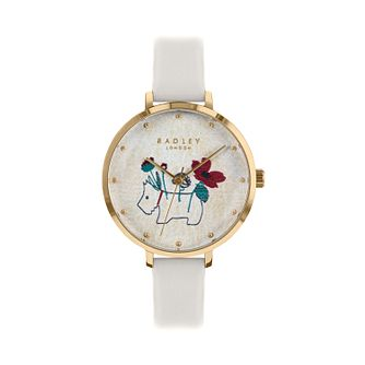 Radley Ladies' Cream Dial Cream Leather Strap Watch - Product number 9734074