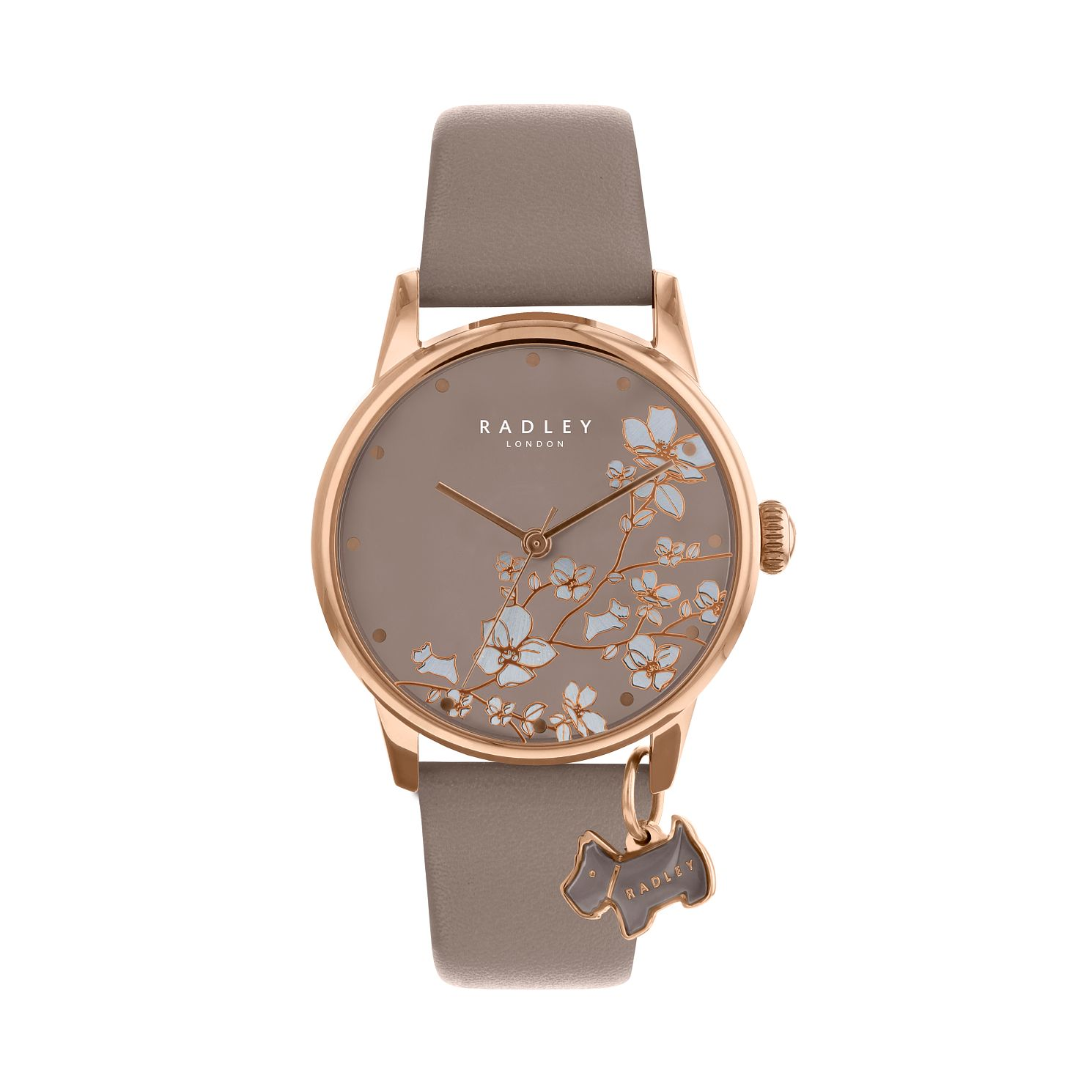 Radley Ladies' Taupe Dial Taupe Leather Strap Watch - Product number 9734090