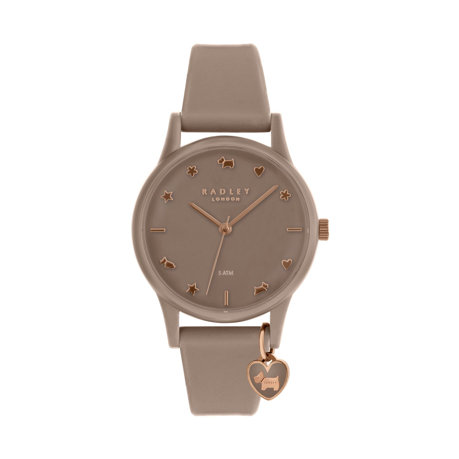 Radley Ladies' Taupe Dial Taupe Leather Strap Watch - Product number 9734139