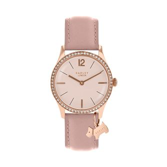 Radley Ladies Pink Cubic Zirconia Dial Watch - Product number 9734147