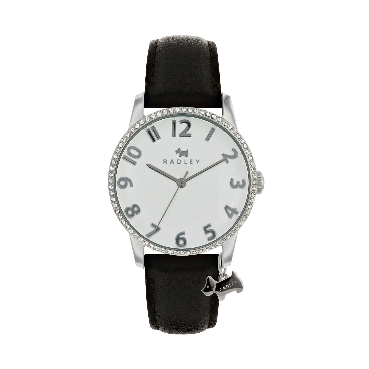 Radley Ladies Black Cubic Zirconia Dial Watch - Product number 9734171