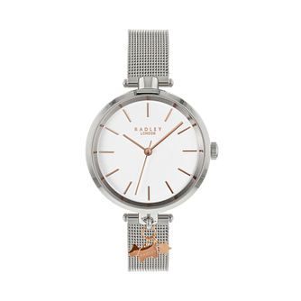 Radley Ladies' Silver Tone Stainless Steel Watch - Product number 9734244