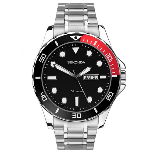 Sekonda Men's Stainless Steel Bracelet Watch - Product number 9734392