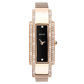 Seksy Rose Gold Plated Bracelet Watch - Product number 9734791