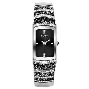Seksy Rocks® Stainless Steel Bracelet Watch - Product number 9734821