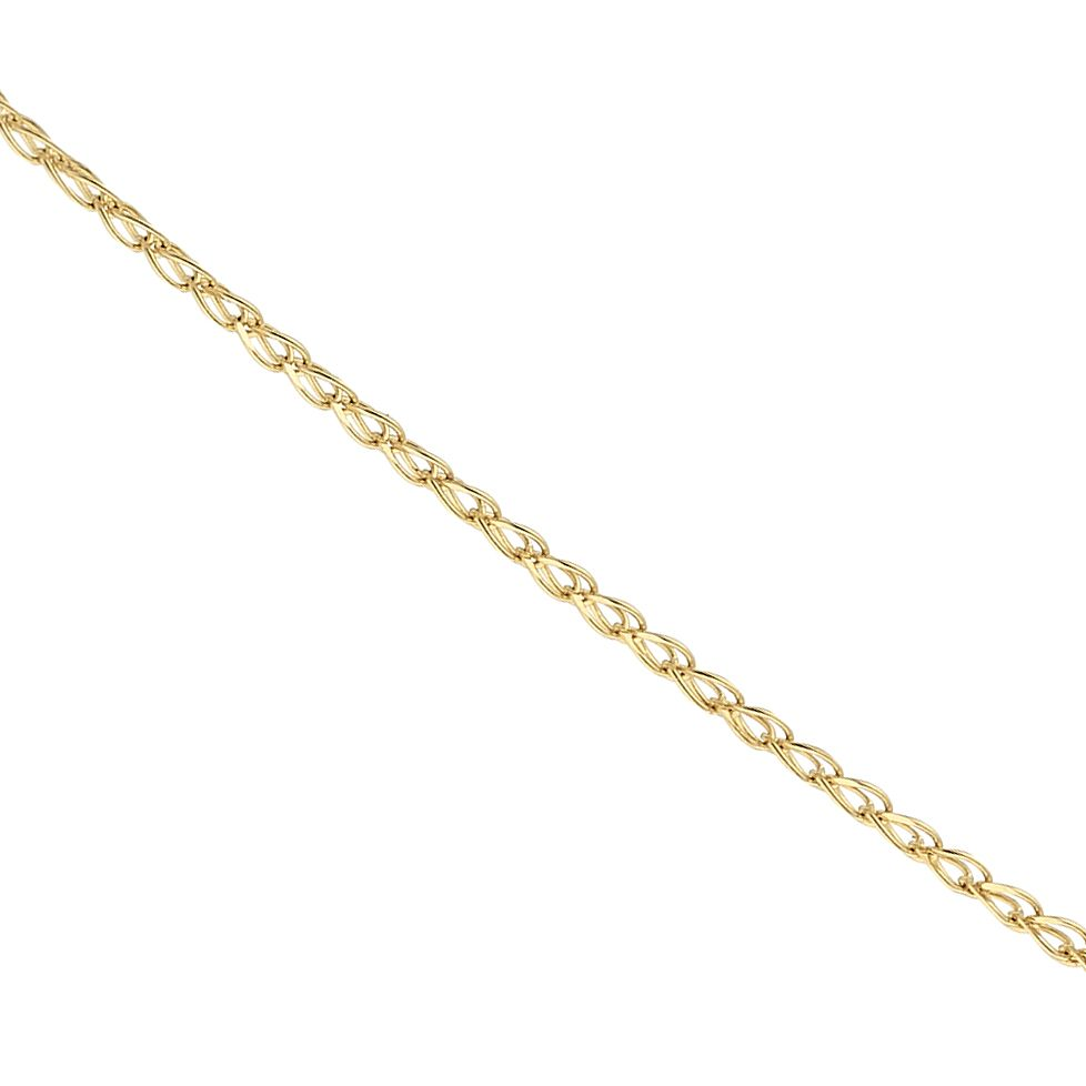 9ct Yellow Gold Mini Double Chain Necklace - Product number 9738533