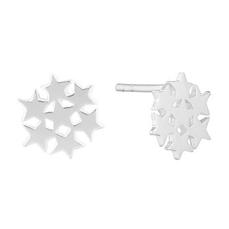 Silver Star Cluster Studs - Product number 9741984