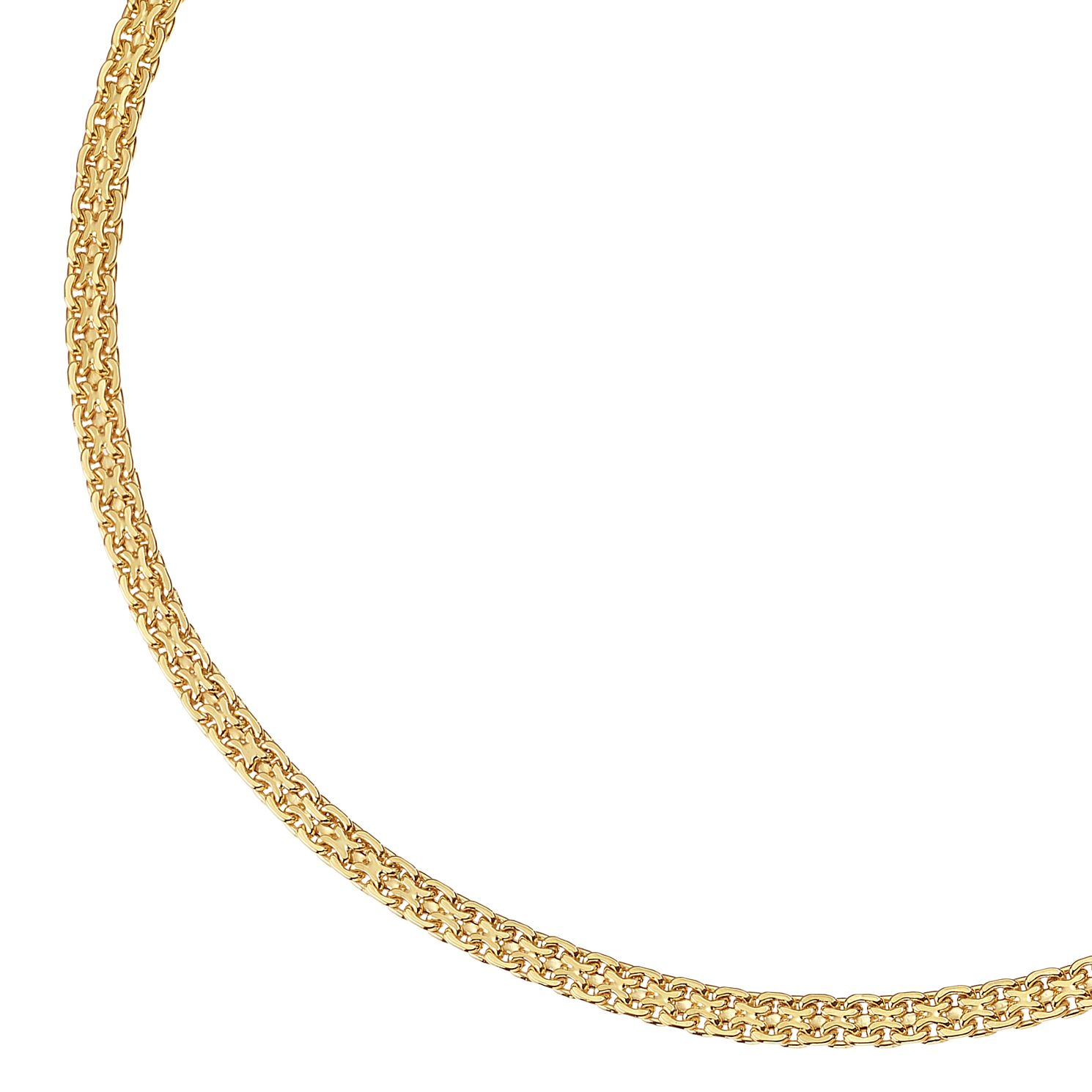 9ct Yellow Gold Fancy Chain Necklace - Product number 9743049