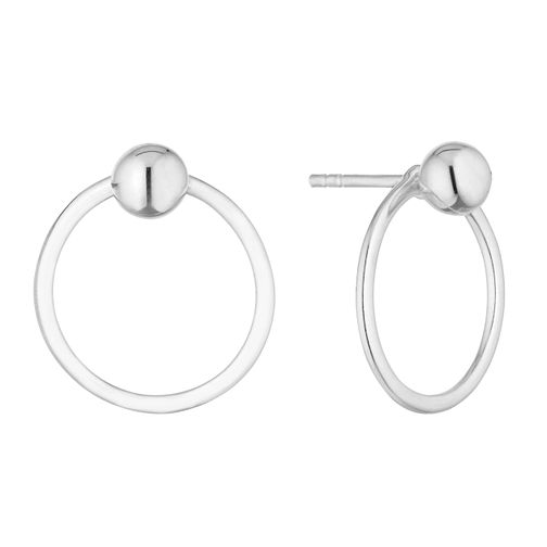 Silver Ball & Hoop Studs - Product number 9743359