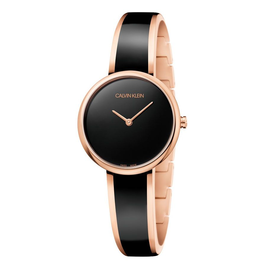 Calvin Klein Seduce Ladies' Rose Gold Plated Bangle Watch - Product number 9743871