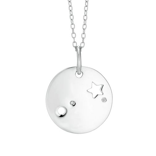 Silver Aries Constellation Pendant - Product number 9744363