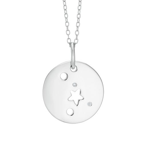 Silver Cancer Constellation Pendant - Product number 9744509